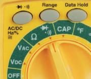 Figure 2-32. Pour vérifier la continuité d'un circuit, placez le sélecteur du multimètre sur le symbole illustré. Attention, cette fonction est à utiliser seulement si le composant ou le circuit testé n'est pas alimenté électriquement.