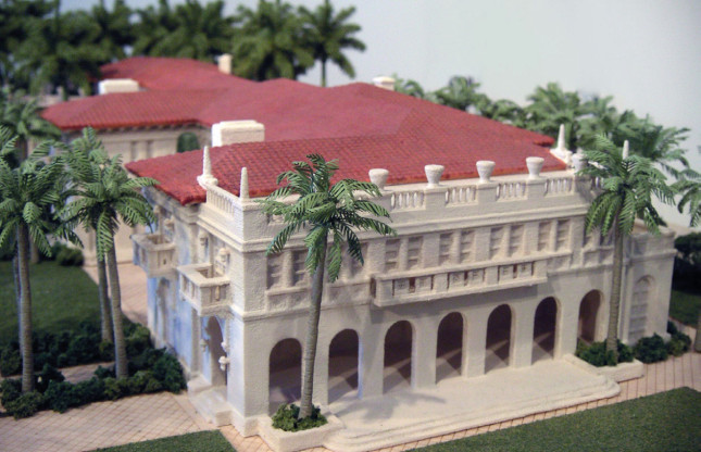 Maquette d' architecture imprimée en 3D en couleurs par une imprimante ZPrinter. (Source : The Realization Group – Z Corporation/3D Systems)