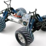 Prototype de voiture électrique imprimé en 3D, tout en plastique. (Source : Stratasys-Objet)