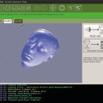 Capture d'écran du logiciel d'impression D ReplicatorG. (Source : ReplicatorG)
