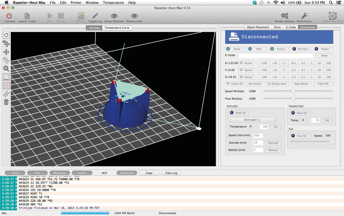 R aliser une impression 3d serialmakers for Photo ecran logiciel