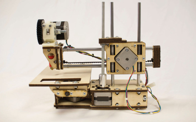 La Printrbot jr de Printrbot , une imprimante 3D personnelle à moins de 350 €. (Source : Printrbot)