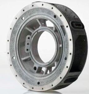 Pièce d'avion réalisée par fabrication additive de métal. (Source : Arcam)