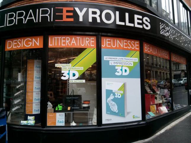 Du 12 septembre au 12 octobre 2013, les passants parisiens pourront s'arrêter au   61 bd Saint-Germain pour découvrir   une imprimante 3D en action !