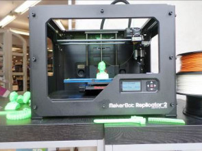 La MakerBot Replicator 2 en action