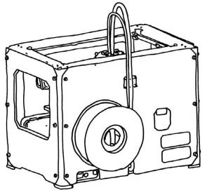 Figure 5-4. Vue arrière de la Replicator 2