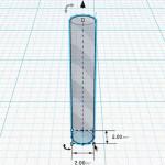 Figure 8-21. Redimensionnement du trou cylindrique