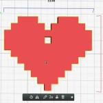 Figure 8-7. Vous devez voir apparaître un seul liseré jaune autour du coeur.