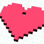 Figure 8-8. Le coeur pixellisé complet