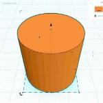 Figure 8-9. Cylindre sur le plan de travail